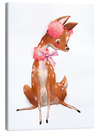 Lienzo  Fawn in pink - Kidz Collection