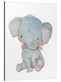 Aluminio-Dibond  My little elephant - Kidz Collection