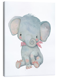 Lienzo  Mi pequeño elefante - Kidz Collection