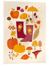 Metacrilato  autumn days - Kidz Collection