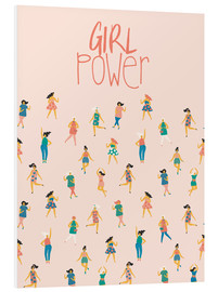 Cuadro de PVC  Girl power