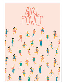 Póster  Girl power