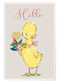 Póster  Hello duckling - Kidz Collection