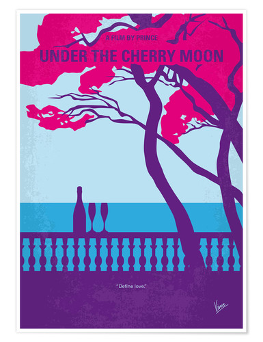 Póster Under The Cherry Moon