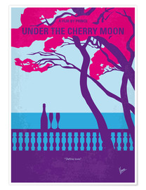 Póster No933 My under the cherry moon minimal movie poster