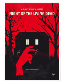 Póster Night Of The Living Dead