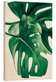Cuadro de madera  Monstera 6 - Mareike Böhmer Photography