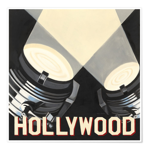 Póster Hollywood