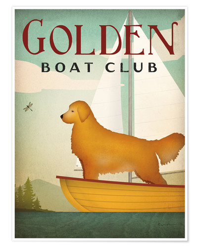 Póster Golden Boat Club