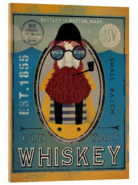 Cuadro de metacrilato  Old Salt Whiskey - Ryan Fowler