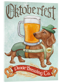 Metacrilato  Beer Dogs III Oktoberfest - Mary Urban