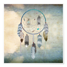 Póster  dream catcher - Brenda Erickson