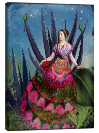 Lienzo  Blue Agave and Cacao - Catrin Welz-Stein