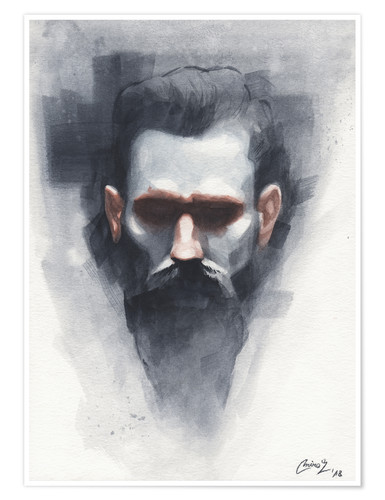 Póster Reproduction of Casey Baugh Artwork