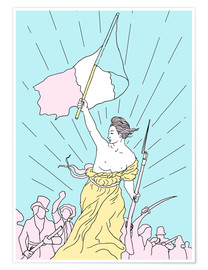 Póster Liberty Leading the People