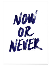 Póster Now or never