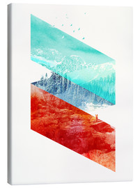 Lienzo  Mountain Stripes - Robert Farkas