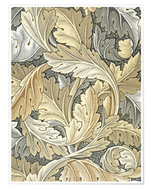 Póster  Acanto - William Morris