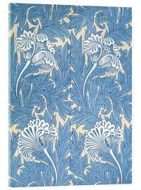 Cuadro de metacrilato  Tulipanes - William Morris
