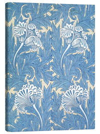 Lienzo  Tulipanes - William Morris