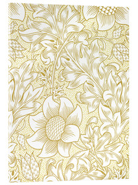 Cuadro de metacrilato  Girasol - William Morris