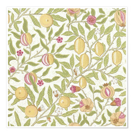 Póster  Fruta o granada - William Morris