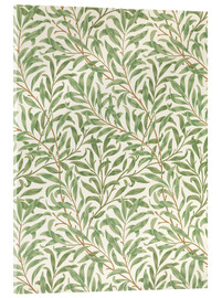Cuadro de metacrilato  Sauce - William Morris