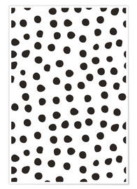 Póster Pattern with dots