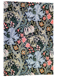 Cuadro de metacrilato  Lirio de oro - William Morris