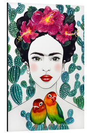 Aluminio-Dibond  Lovebirds de Frida - Mandy Reinmuth