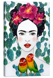 Lienzo  Lovebirds de Frida - Mandy Reinmuth