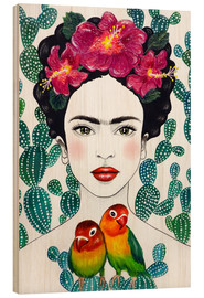 Madera  Lovebirds de Frida - Mandy Reinmuth