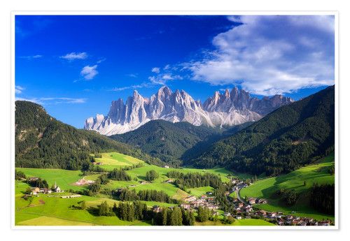 Póster Summer in south Tyrol