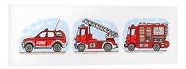 Forex  Hugos fire department set - Hugos Illustrations