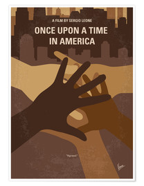 Póster No942 My Once Upon a Time in America minimal movie poster