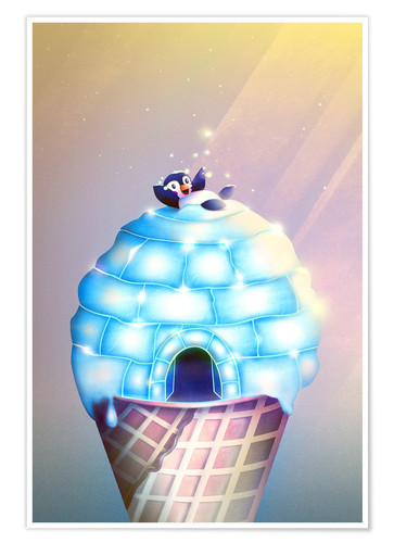 Póster Igloo Flavour
