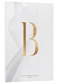 Cuadro de PVC  GOLD LETTER COLLECTION B - Stephanie Wünsche