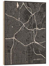 Madera  Los Angeles USA Map - Main Street Maps