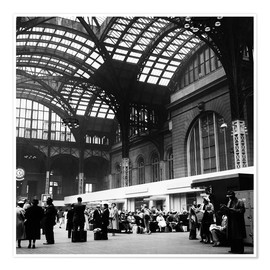 Póster  Penn Station, NYC, 1954 - Science Source