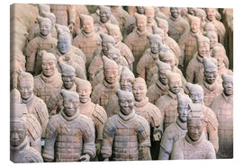 Lienzo  Terra Cotta Army Museum, The Terracotta Army of Warriors & Horses is a collection of terracotta scul - Stuart Westmorland