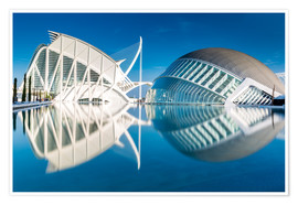 Póster Museum Valencia, City of Arts and Science