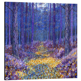 Cuadro de aluminio  Blue Forest 2 - David Newton