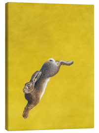 Lienzo  The Leap-Yellow - Tim Hayward