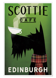 Póster Scottie Cafe