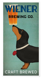Póster  Wiener Brewing Co - Ryan Fowler