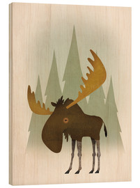 Madera  Forest Moose - Ryan Fowler