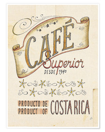 Póster Authentic Coffee VIII