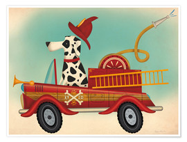 Póster  K9 Fire Department - Ryan Fowler