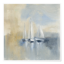 Póster Morning Sail I