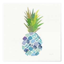 Póster  Diversión tropical piña II - Courtney Prahl